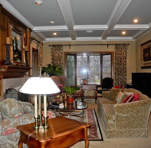 Coffered Ceiling Remodel