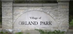 Village of Orland Park sign