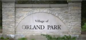 Village of Orland Park sign